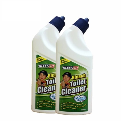 Kleenso Bleach Toilet Cleaner TWIN PACK 600ml