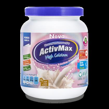Nova ActivMax High Calcium Vanilla 900g