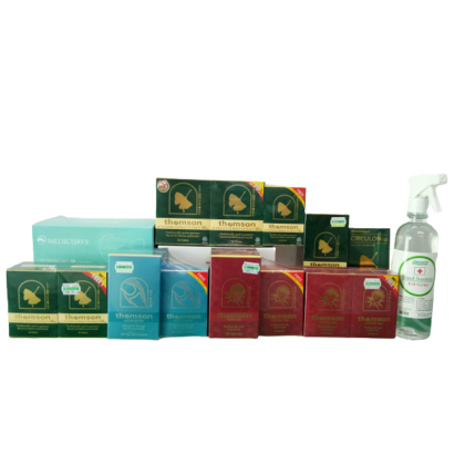 Thomson Buy any Thomson Product Rm500 Above Foc Medical Face Mask 50 And Kleenso Hand Sanitizer 500ml